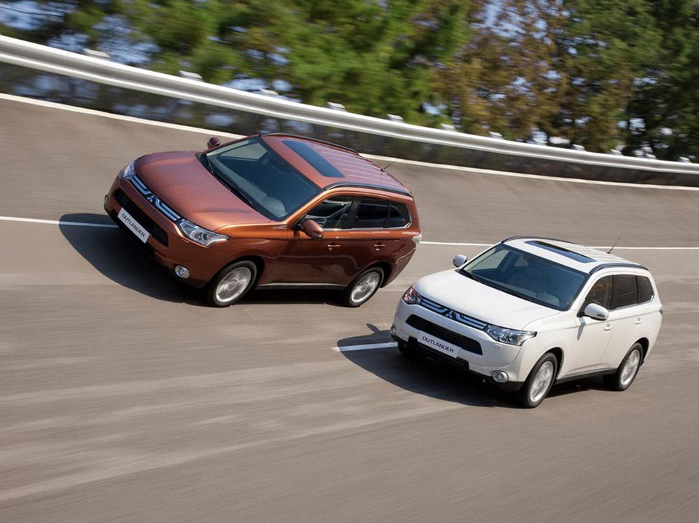 Новый Mitsubishi Outlander фот…