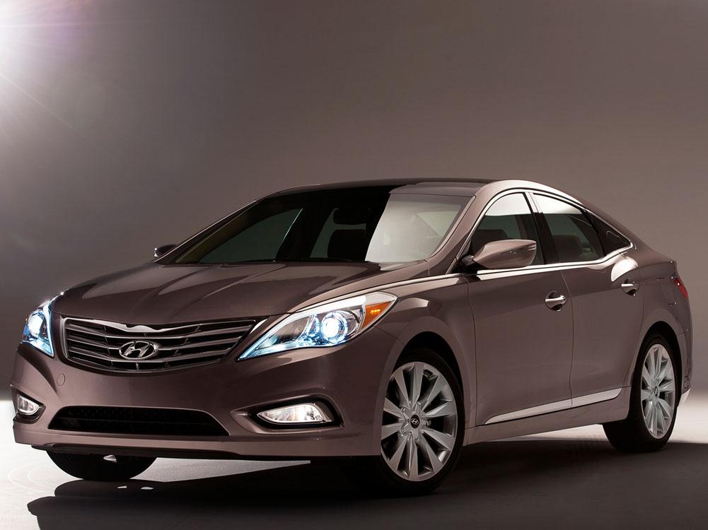 Hyundai Azera 2012 дебютирует в …