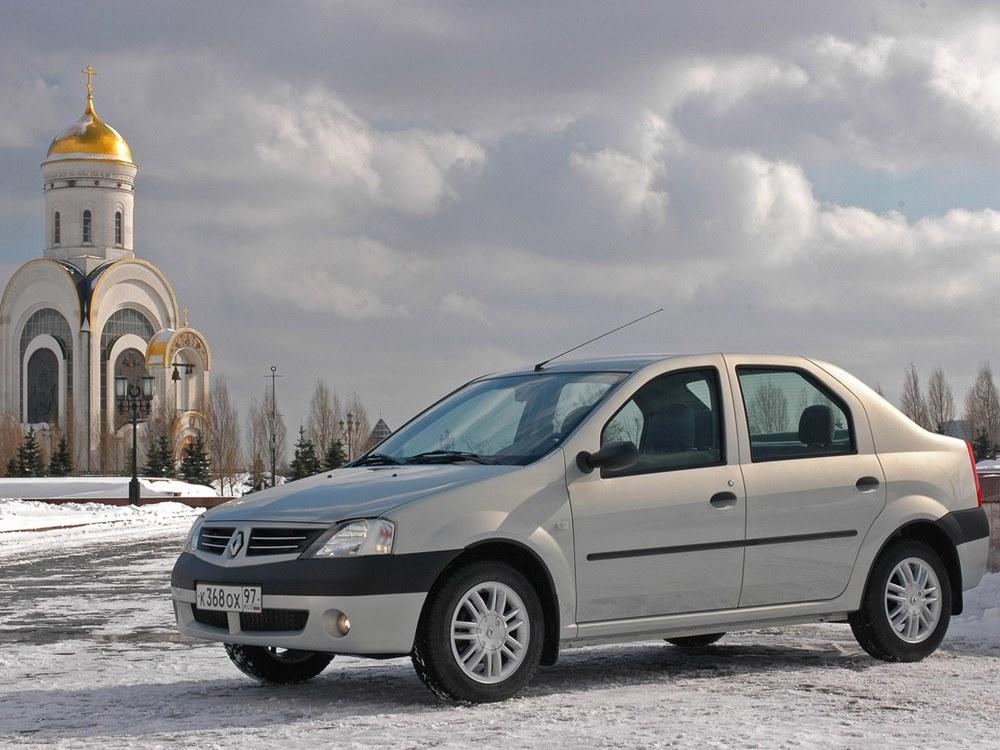 Народный автомобиль Renault Loga…