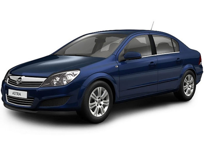 opel astra седан:
