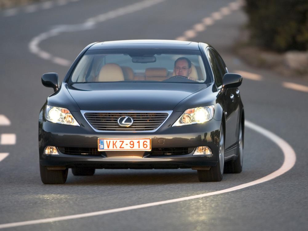 Lexus LS 460 седан, экстерье…